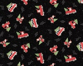 Santa Making Spirits Bright Fabric By Susan Winget For Springs Creative