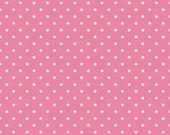 Swiss Dot Hot Pink by Riley Blake Designs