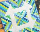 Churndash Court Mini Quilt Pattern by Sassafras Lane Designs