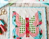 Social Butterfly Mini Quilt Pattern by Vanessa Goertzen of Lella Boutique for Moda