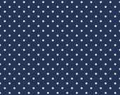 Swiss Dot Navy by Riley Blake Designs