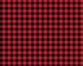Wild At Heart Buffalo Plaid in Red by Lori Whitlock for Riley Blake Designs