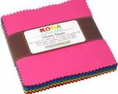 Kona New Classic Palette Charm Squares by Robert Kaufman
