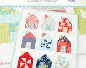 Dwell Mini Quilt Pattern by Camille Roskelley Thimble Blossoms