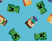 Minecraft Friends Fabric by Springs Creative