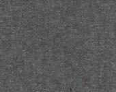 Essex Linen Charcoal E064-CHAR by Robert Kaufman