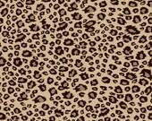 On Safari Leopard Brown by Riley Blake Designs