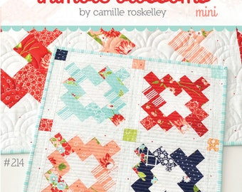 Vintage Mini Quilt Pattern by Camille Roskelley of Thimble Blossoms