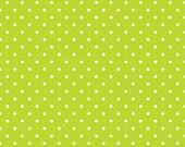 Swiss Dot Lime by Riley Blake Designs