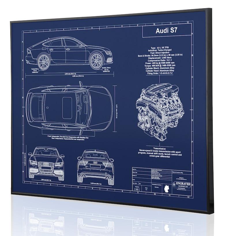 Engraved on Metal Audi Enthusiasts Sign Custom Car Art Acrylic or ...