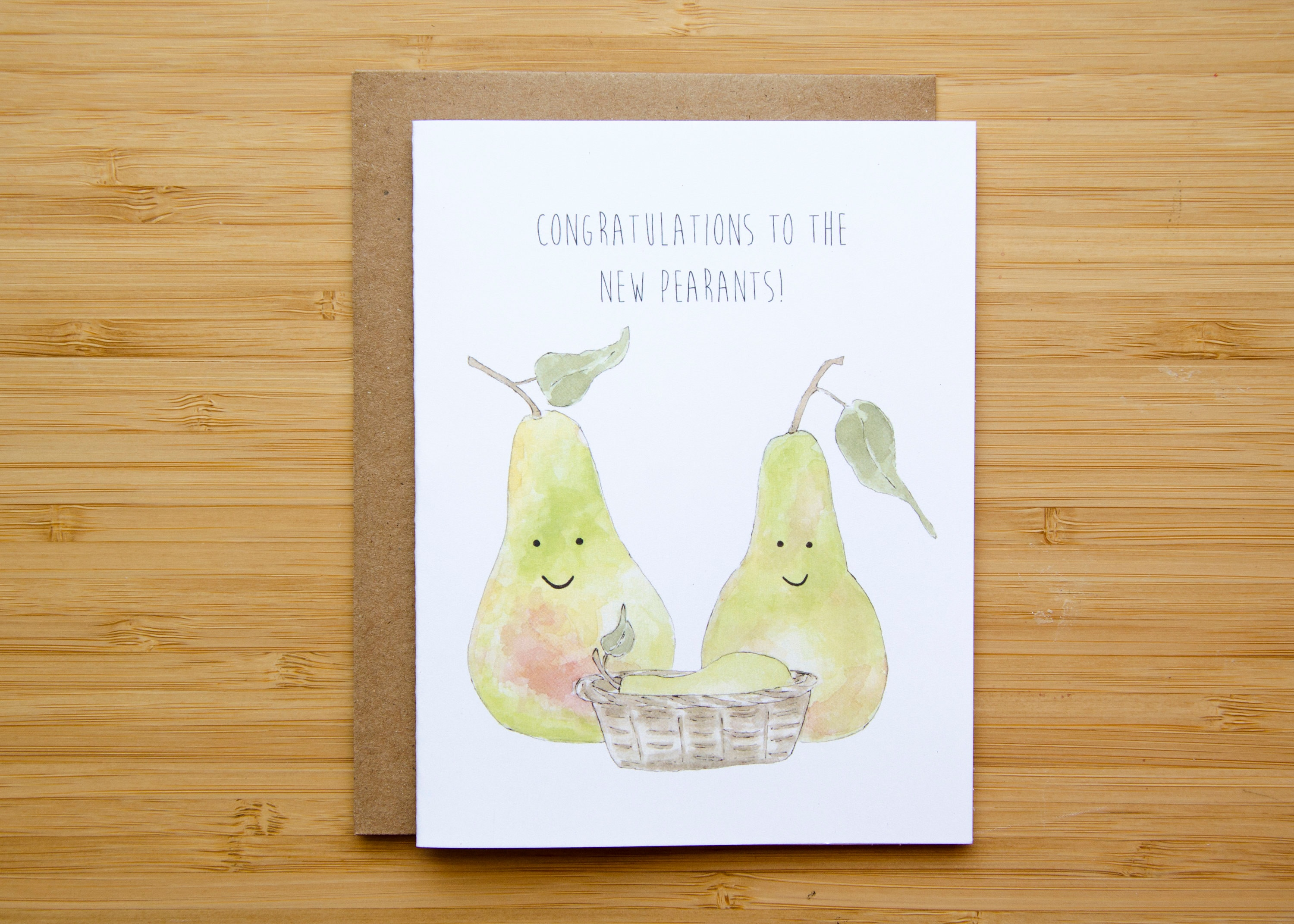 New Parents Punny Greeting Card