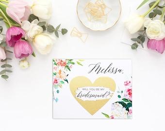 Will you be my bridesmaid card, bridesmaid proposal card, be my maid of honor, bridesmaid card, be my bridesmaid, bridesmaid proposal