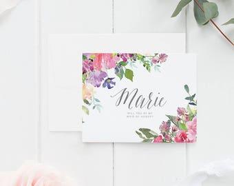 Will you be my bridesmaid card, bridesmaid proposal card, be my maid of honor, bridesmaid card, bridesmaid proposal, be my bridesmaid