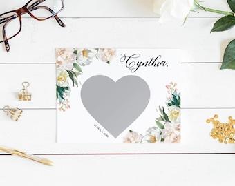 Will you be my bridesmaid card, bridesmaid proposal card, be my maid of honor, bridesmaid card, be my bridesmaid, scratch off bridesmaid