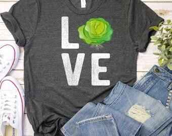 7c1d99f9e Love Lettuce Gardening Shirt / Garden Shirt / Gardening T Shirt / Gardening  Gift / Gardening T Shirt / Gardening Tee / Gift For Gardener
