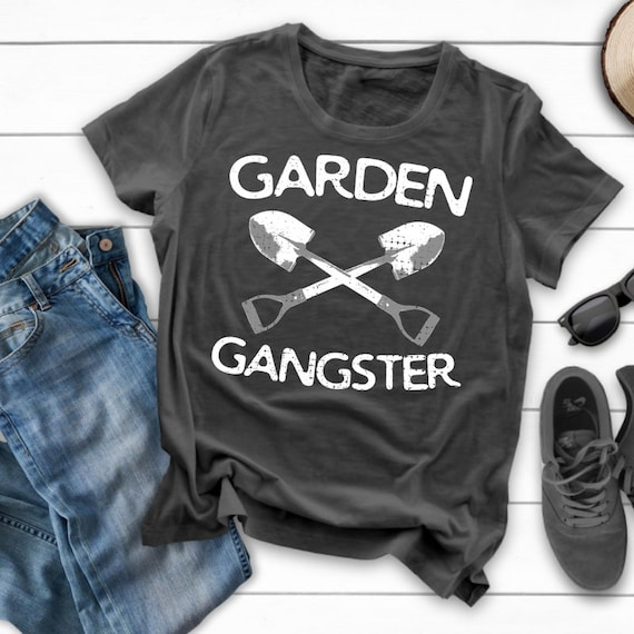 683ef04c Garden Gangster / Garden Shirt / Gardening Shirt / Gardener | Etsy