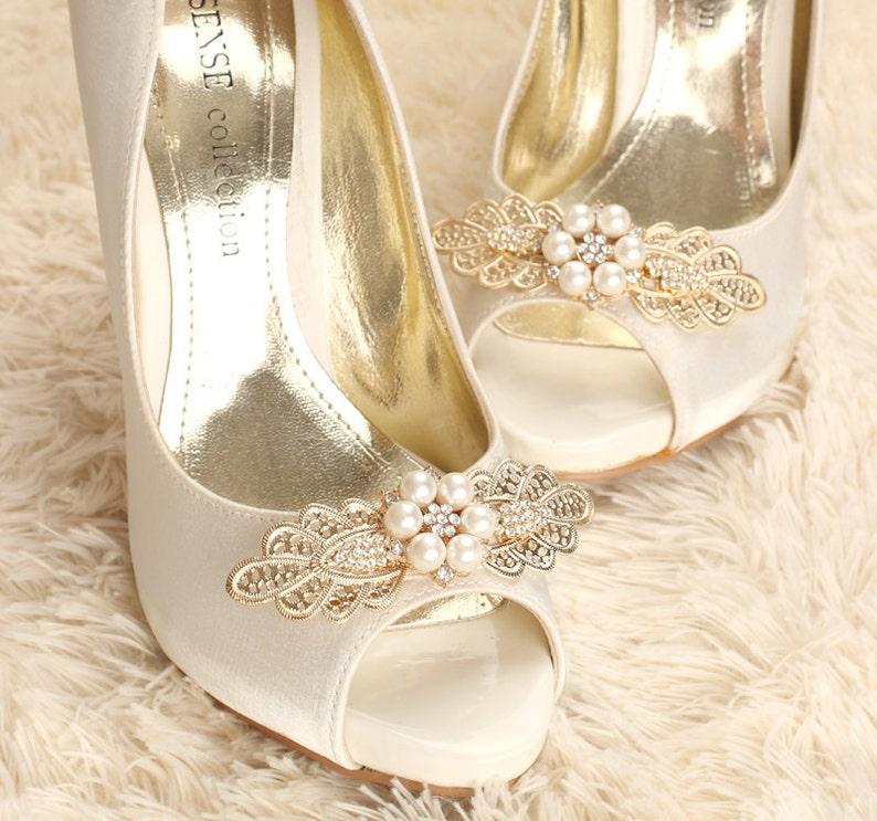 41c139434c59 Rhinestone shoe clips shoe clips crystal shoe clips bridal