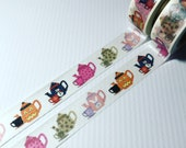 Holiday Tea Cups, Halloween, Christmas, Valentines Day, Easter, Washi Tape, Sample Lengths