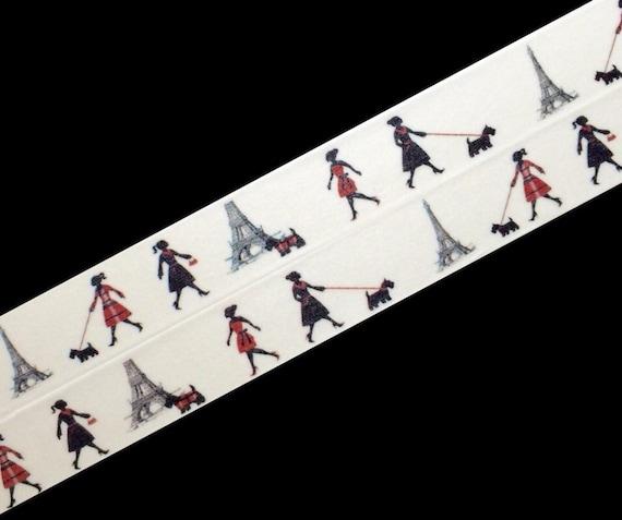 Fashionistas in Paris, Washi Tape, Sample Lengths