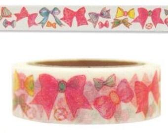 Ribbons and Bows, Washi Tape Samples