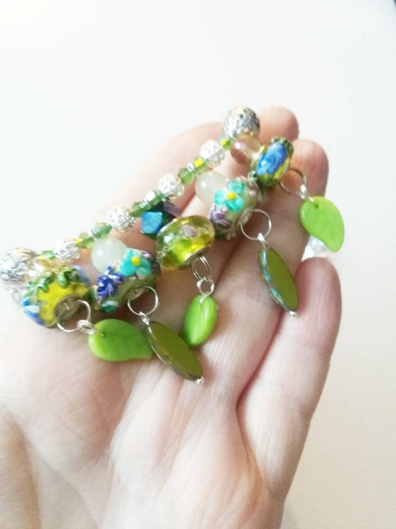 Green sharm necklace for women 18