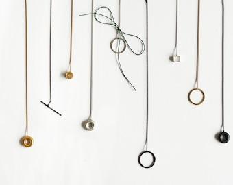 Threader earrings, chain earrings, long earrings, single earring, geometric threader, long threader earrings, birthday gift,  earrings gift