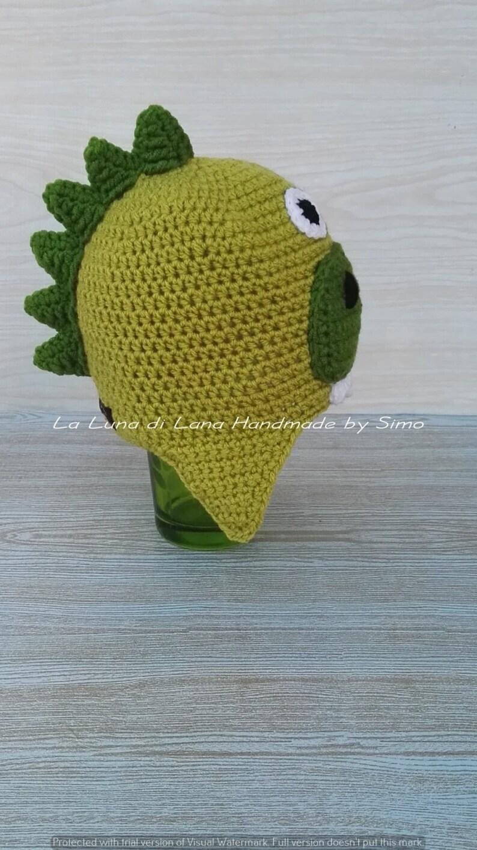 Cappello per bambino o neonato a forma di dinosauro  f587c24e7f36