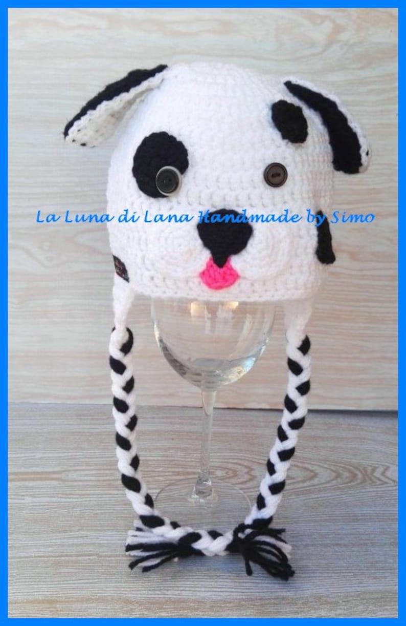 newborn photo shoot newborn headphone wool new mom gift baby disguise Children/'s Dalmatian hat hat with ears