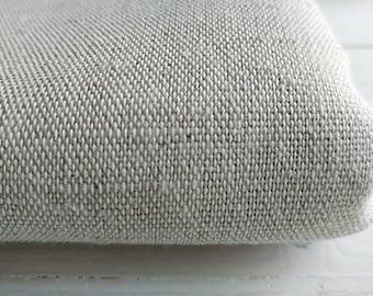 Linen fabric - Natural linen - Natural flax fabric - Linen cotton blend fabric
