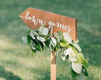 Wedding Lawn Games Etsy