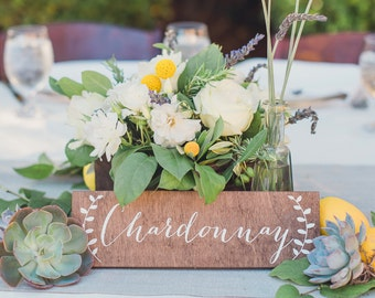 Wedding table numbers, wood table numbers, rustic table numbers, calligraphy table numbers, themed table numbers, wood wedding signs -c