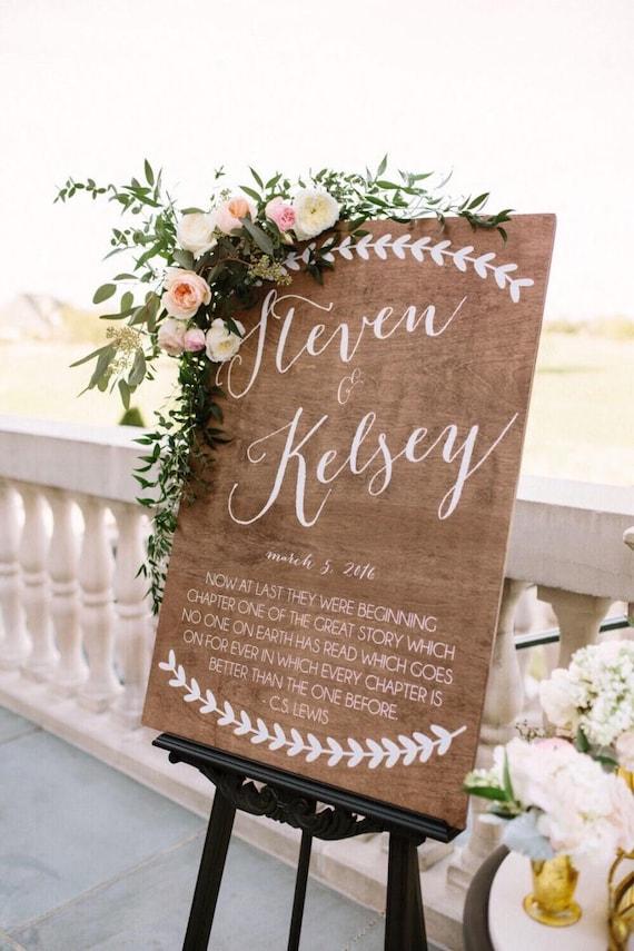 Wedding Welcome Sign Welcome Sign Wedding Signs Wood