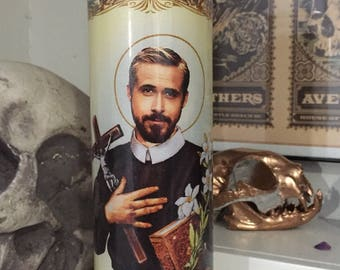 St Ryan Gosling Prayer Candle