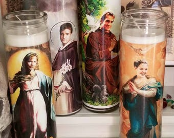 St Dawson's Creek Prayer Candles