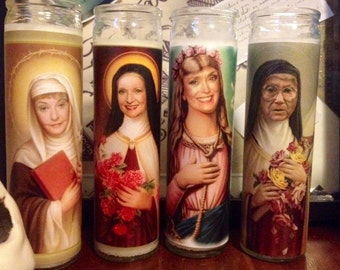 Golden Girls Prayer Candles set of 4