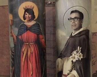 St Carrie Brownstein Fred Armisen Portlandia Prayer Candles