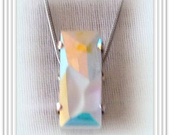 Pendant genuine Swarovski Crystal.
