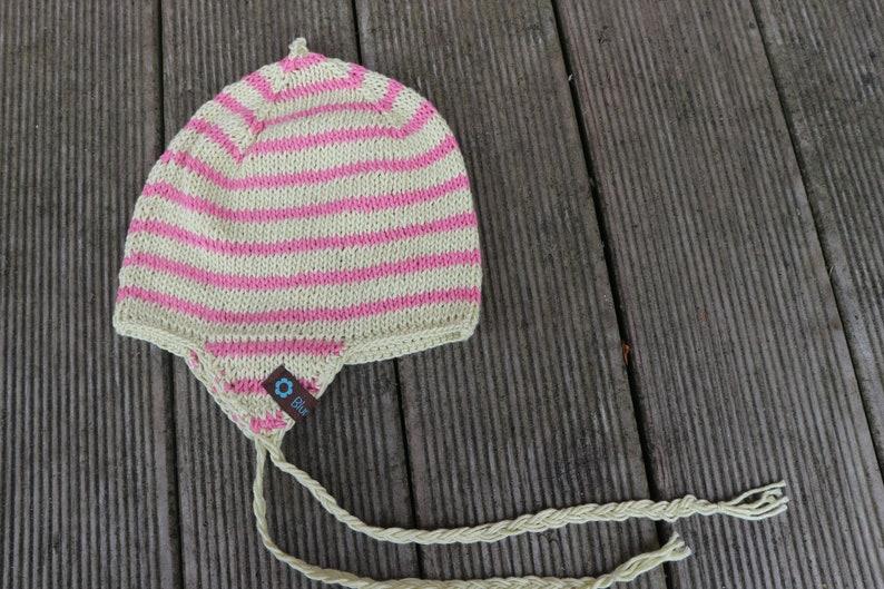 5ac71861183 Eskimo cap Gr. 86 92 Yellow-Pink