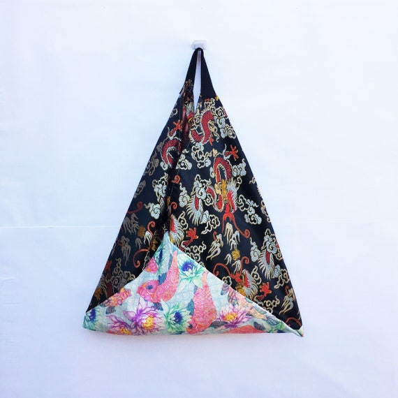 Azuma Más JaponésArtículo Regalo TriangularBolso Para De BuzaroTote PopularGrandeIdea Bolsa EllaBandolera Origami PiXZOuk