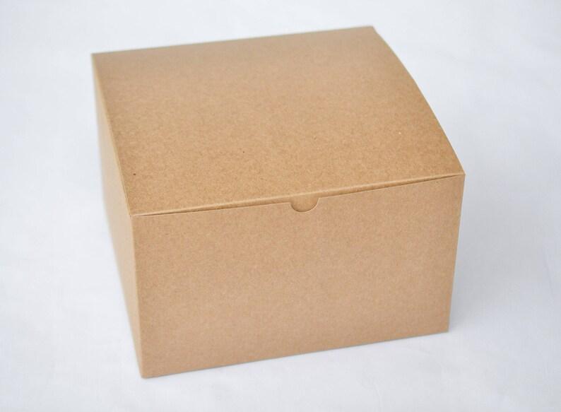 Bridesmaid Boxes Groomsmen Boxes Large Gift Boxes Proposal Boxes Paper Boxes Favor Boxes Gift Packaging 6 Brown Boxes 9 X 9 X 5 5