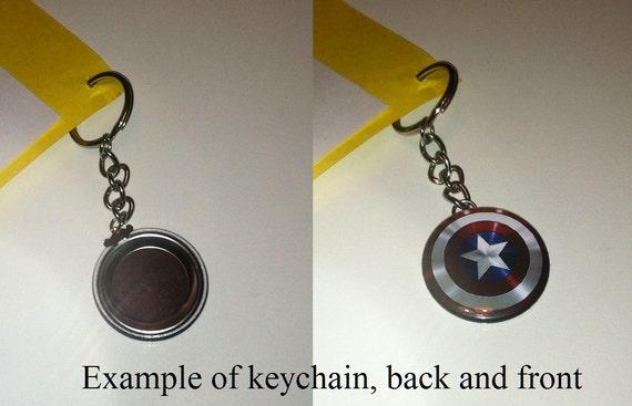 Badge Gift Space 1.25 or 1.5 Keychain Pinback button Magnet Trekkies Star Trek Starfleet Academy of Science