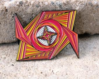 0fb1179881f Apex of the Solar Vortex Spinning Tipper Hat Pin