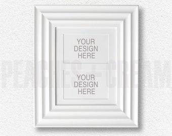 White Frame Mock-up, Frame DOWNLOAD, Photography Frame Mockup, 5x7 Frame Mockup, DIGITAL DOWNLOAD Frame, 5x7 White Frame, Digital Mock-up