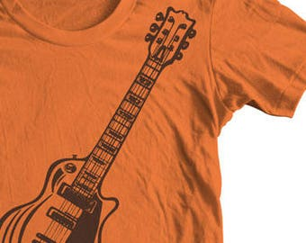 06266753d Band T-shirts Gifts for Dad Electric Guitar Standard 1958 Gibson Les Paul.  Original Artwork Band T shirts