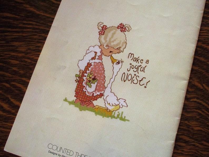 Verdant Garden Crewel Embroidery Kit Mod Retro MCM Plants Ladybugs June McClean