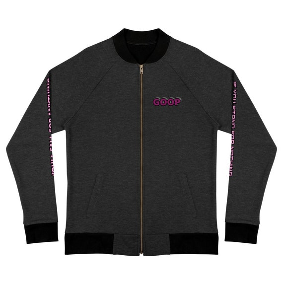 GOOP Culture Bomber Jacket
