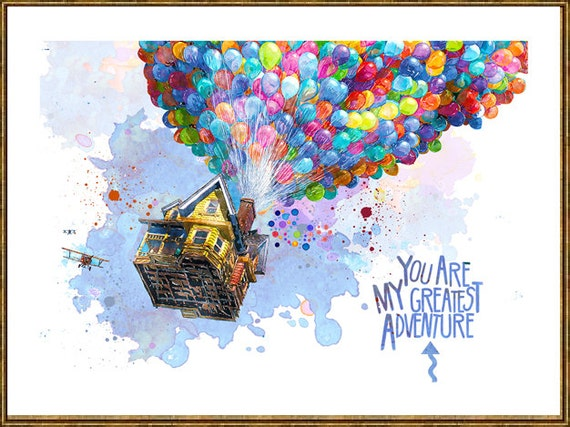 Flying Home Quote You Are My Greatest Adventure Etsy