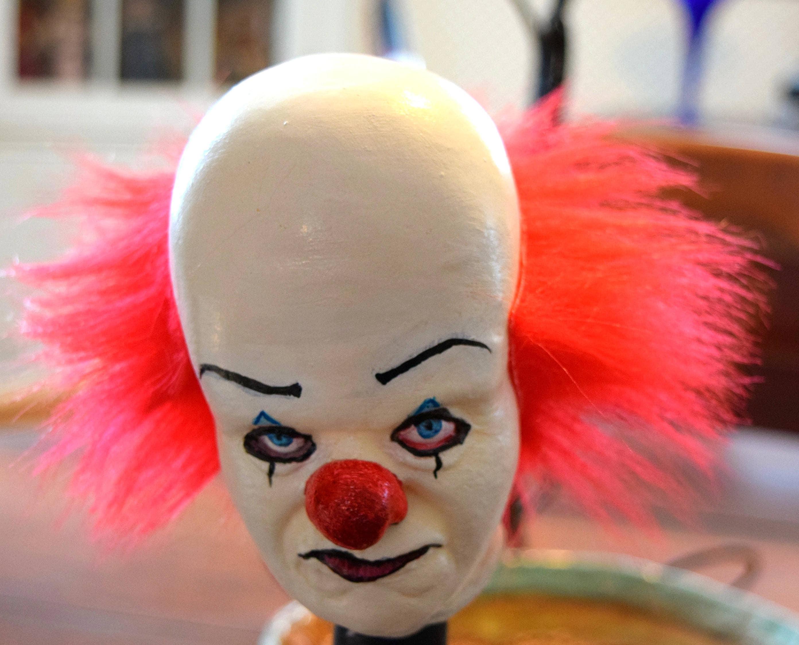 Stephen King 20 Horror Doll Figure Bill Skarsgard Halloween Killer Klown PENNYWISE Killer Clown IT Movie Haunted Creepy Clown Cult