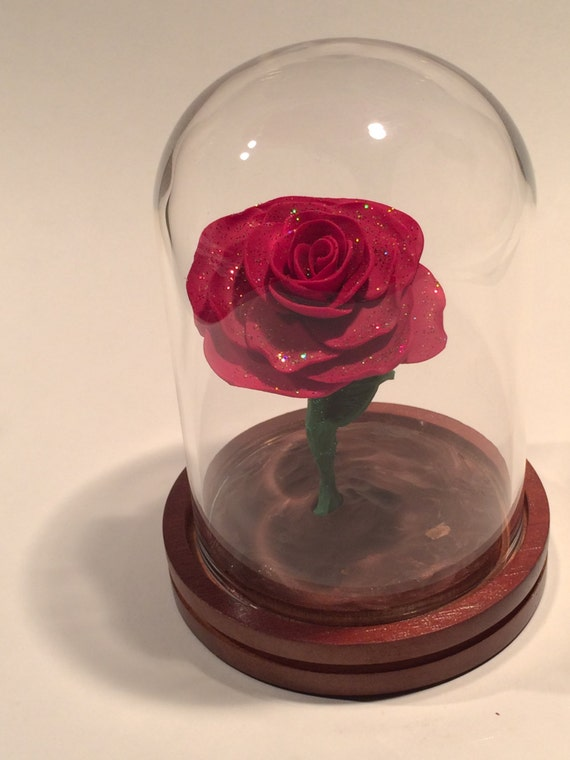 Free Shipping Beauty And The Beast Rose Beauty And The Beast Etsy