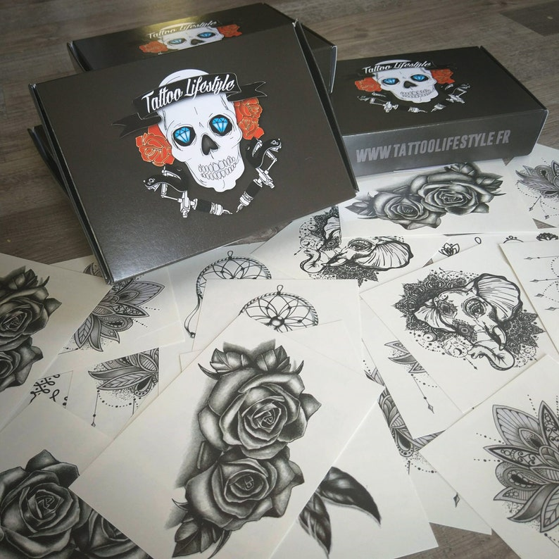 Tattoos Box 50 Tatouages temporaires image 0